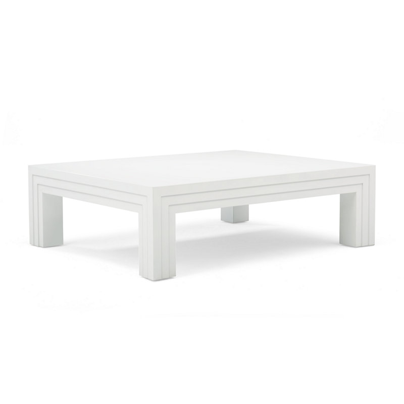 COTE D'AZUR COCKTAIL TABLE - WHITE LACQUER