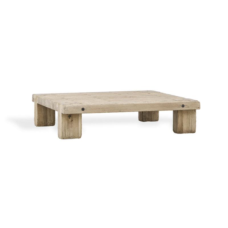 HEAVY TIMBER COCKTAIL TABLE