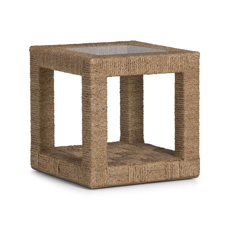 BARTLETT WOVEN END TABLE