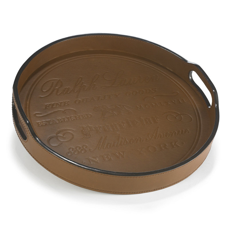 CANTWELL ROUND BAR TRAY