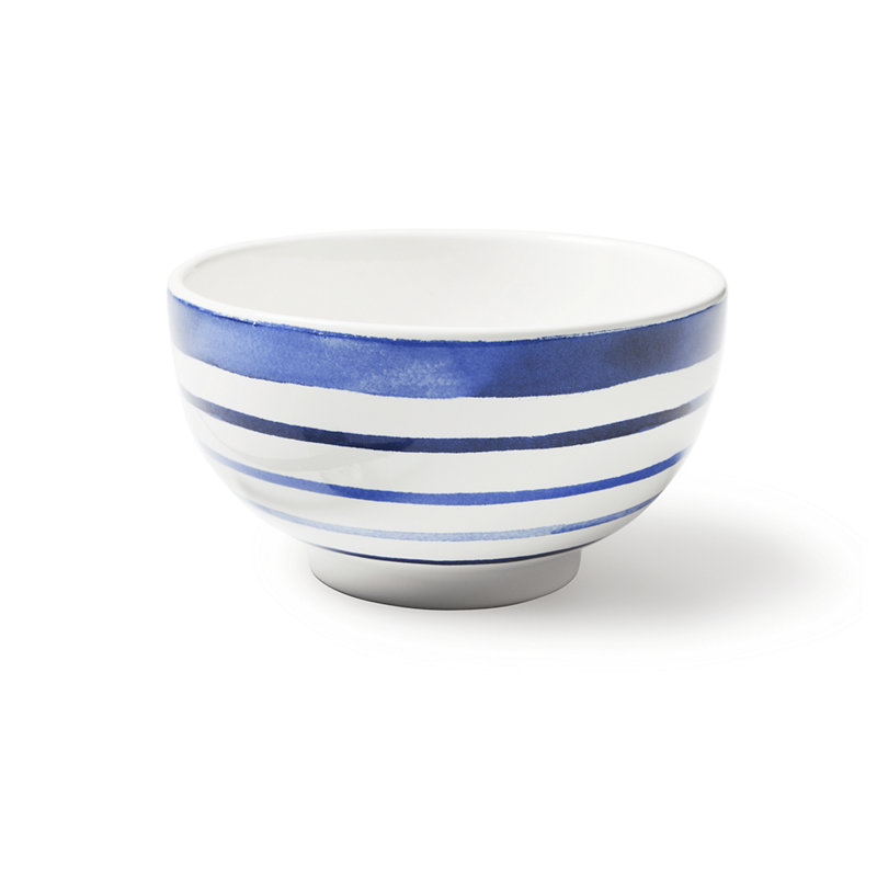 COTE D'AZUR STRIPE CEREAL BOWL