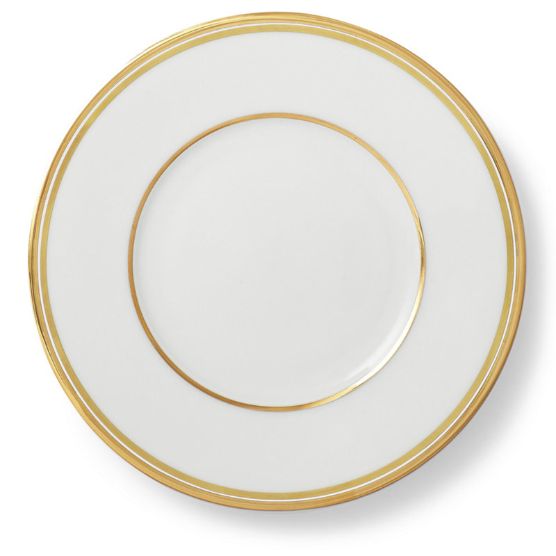 WILSHIRE BREAD AND BUTTER PLATE - GOLD