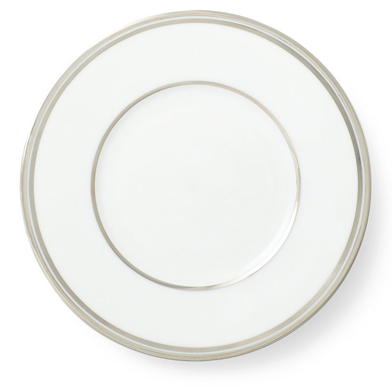 WILSHIRE BREAD AND BUTTER PLATE - SILVER