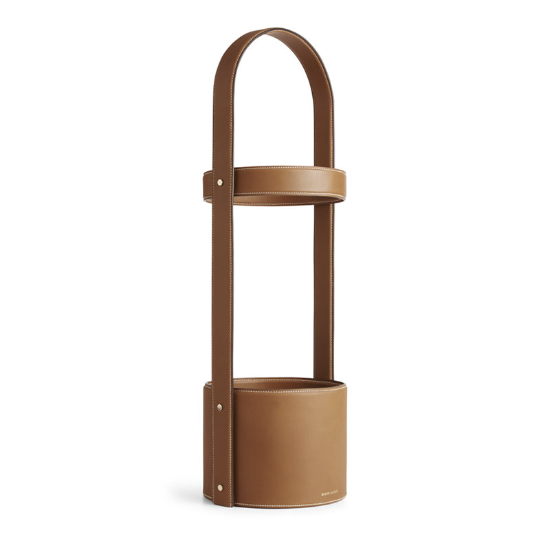 BRENNAN UMBRELLA STAND - SADDLE