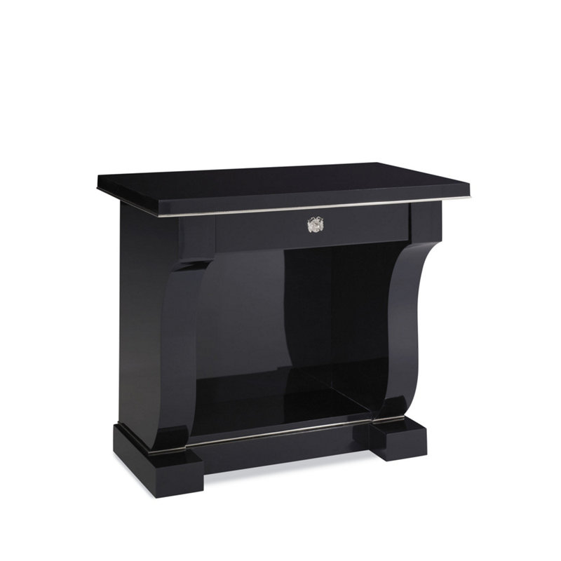 BROOK STREET NIGHT STAND - BLACK