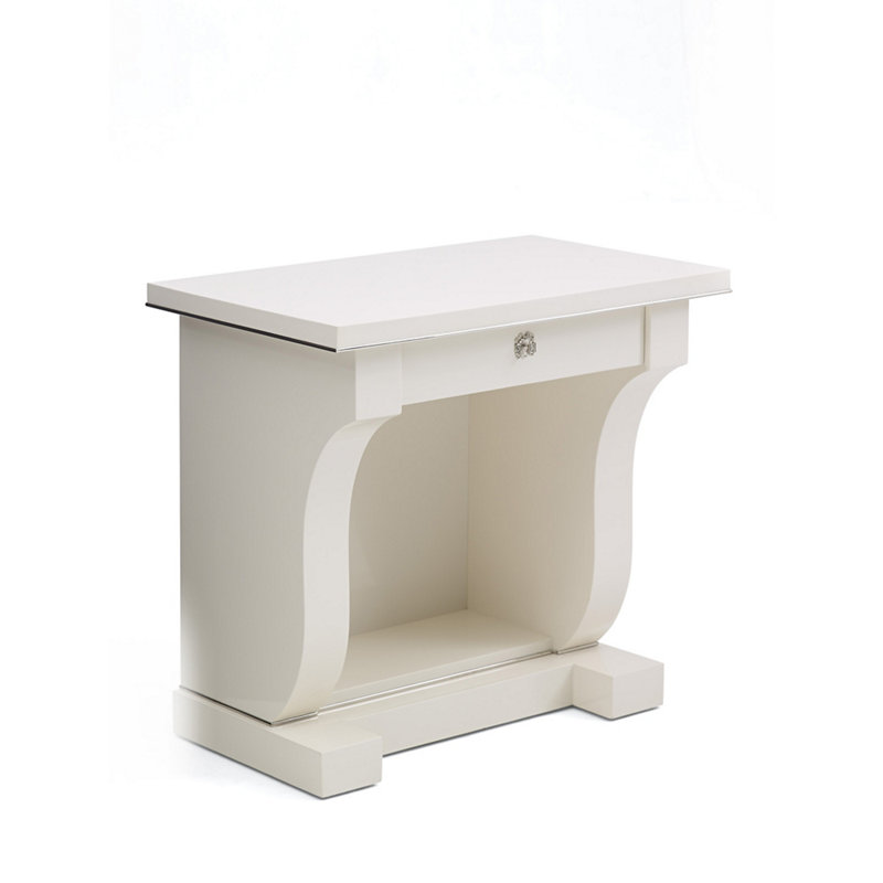 BROOK STREET NIGHT STAND - CREAM