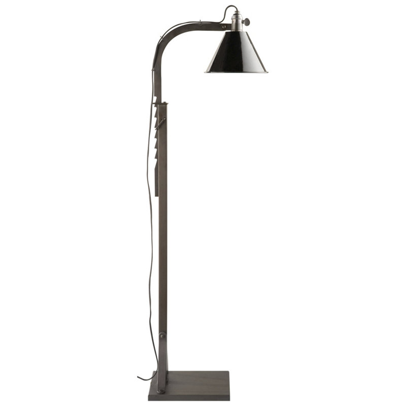 ASHCROFT FLOOR LAMP IN AGED IRON