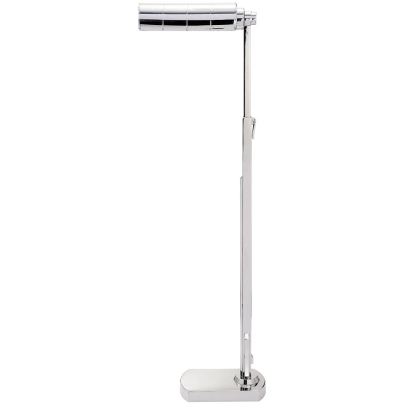 MONTGOMERY FLOOR LAMP IN POLISHED NICKEL