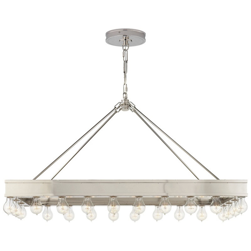 ROARK RECTANGULAR PENDANT IN POLISHED NICKELALEXANDRA LARGE CHANDELIER
