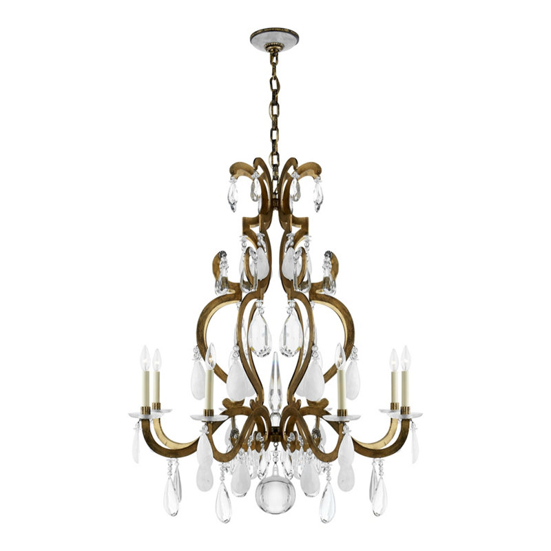 MARIE CHANDELIER - GILDED IRON